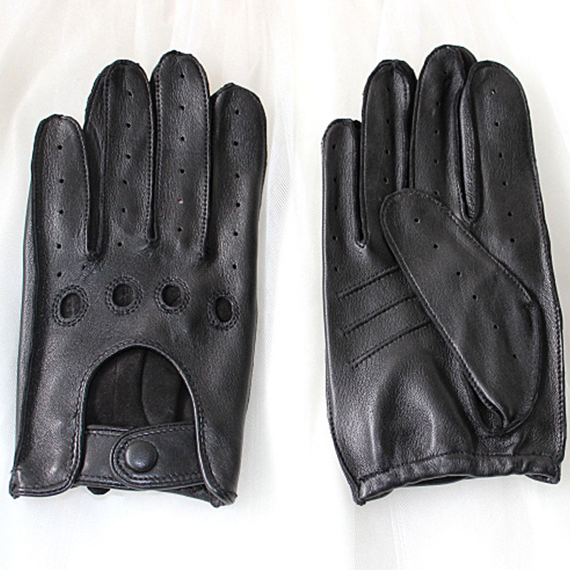 Leather Gloves Top Quality Fashion Unlined for Men