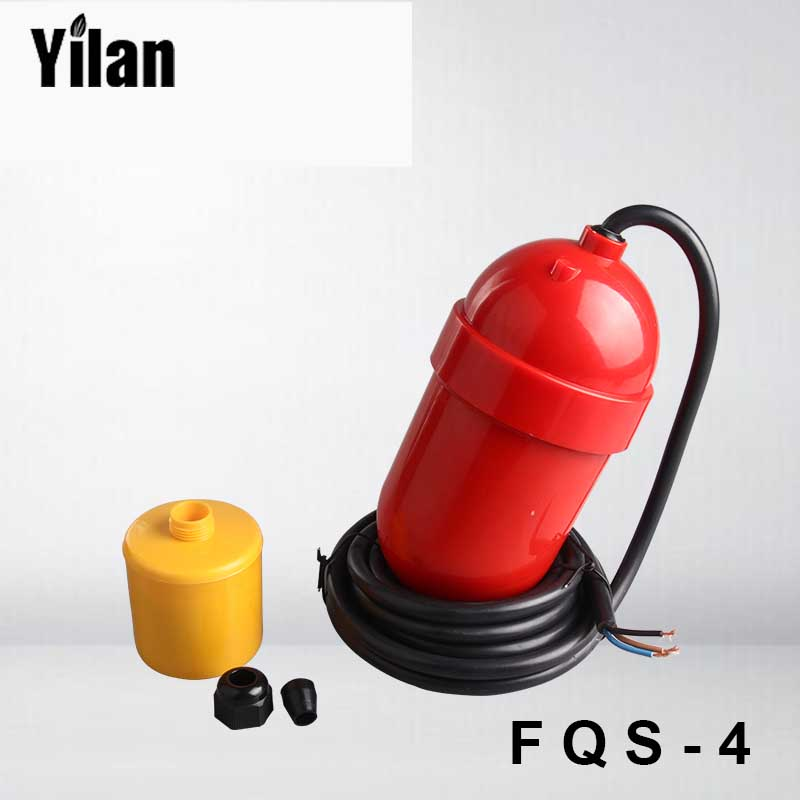 FQS-4 Cable Float Level Switch Water Level Controller Plastic Float Switch Float Controller Float Switch