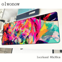 art mousepad 80x30cm anime gaming mouse pad big gamer mat New arrival game computer desk padmouse