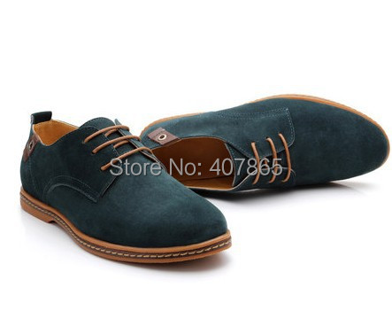 free shipping men's genuine leather shoes  low-top shoes