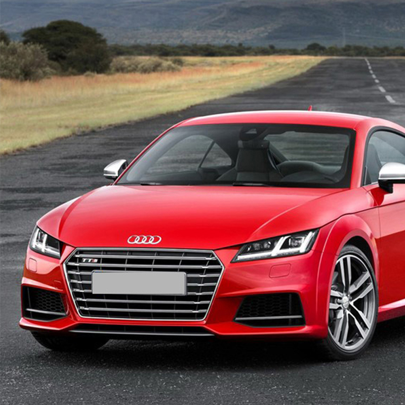 TT Modified TTS Style Grey Front Hood Center Grille Grill for Audi TT 2015 2016 mayitr new red front hood grill grille
