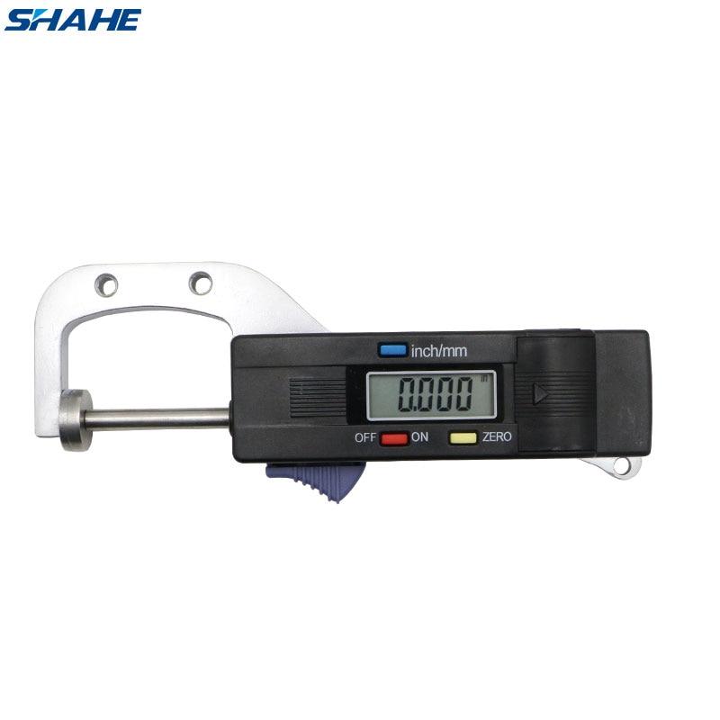 Shahe 0-25 Mm Mini Digital Jewel Gem Gemstone Thickness Gauge Caliper With 0.01 Mm Measure Thickness Tool