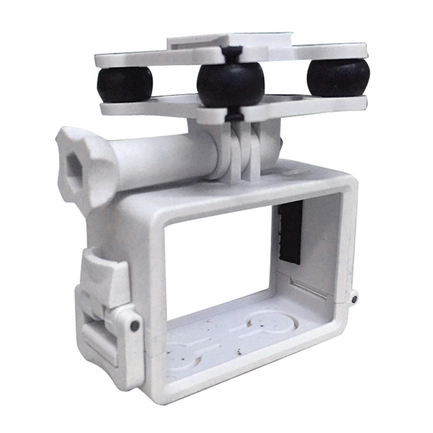 High Quality New SJ/GoPro/Xiaoyi Camera Holder with Gimble/Gimbal For SYMA X8C/X8G/X8W rc Quadcopter Drone rc Helicopter White