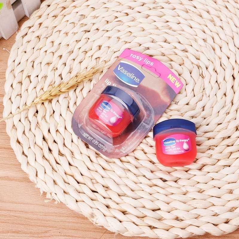 Nueva crema de labios de color rosa hidratante para el cuidado de la piel mantener la hidratación 7g