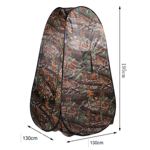 Hot shower tent beach fishing shower outdoor camping toilet tent,changing room shower tent with Carrying Bag(China)
