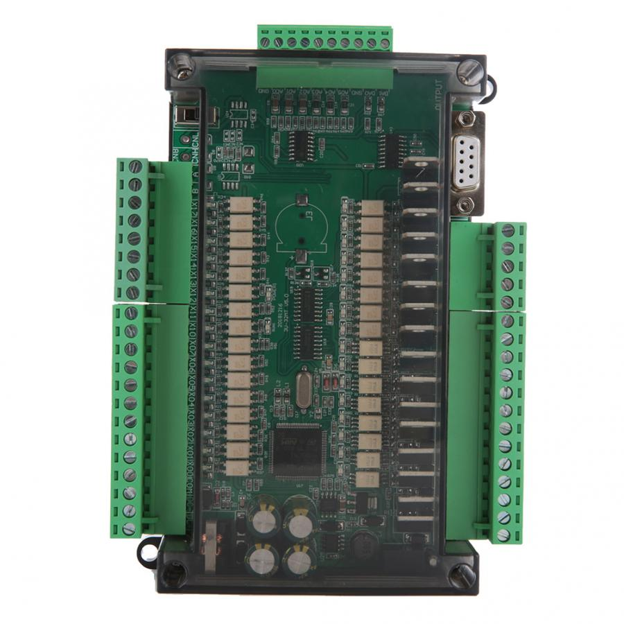 stepper motor controller Industrial Control Board FX3U-32MT High Speed 16 Input 16 Output 24V 1A motor regulator 2019stepper motor controller Industrial Control Board FX3U-32MT High Speed 16 Input 16 Output 24V 1A motor regulator 2019