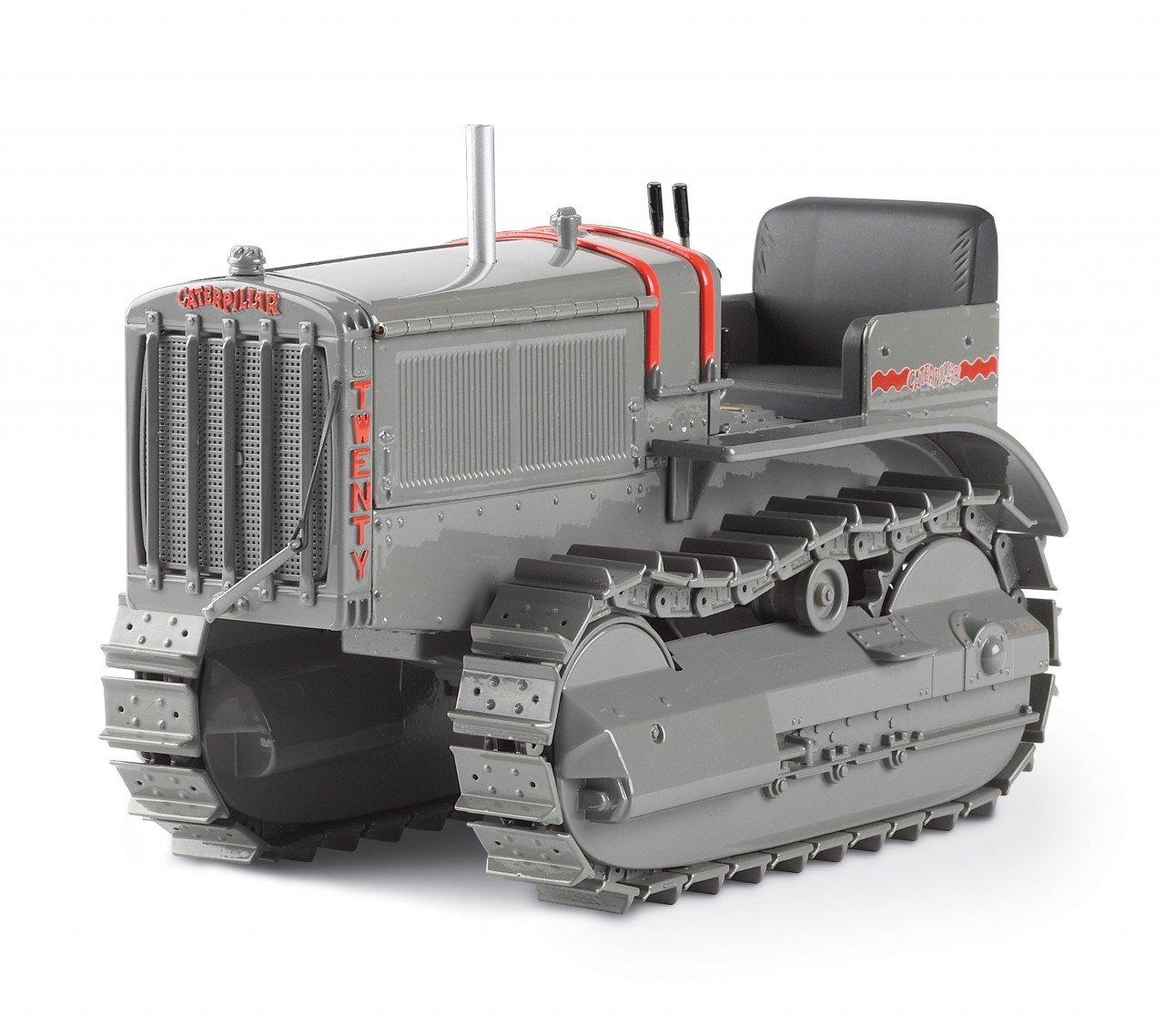 1:16 кошка 20 гусеничного типа трактор с металлическими гусеницами игрушка