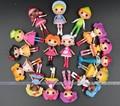 4 / 8 шт. / lot Brinquedos Meninas MGA Mini Lalaloopsy кукла 8 см 3,1 inch пуговица глаза игрушки для девочки