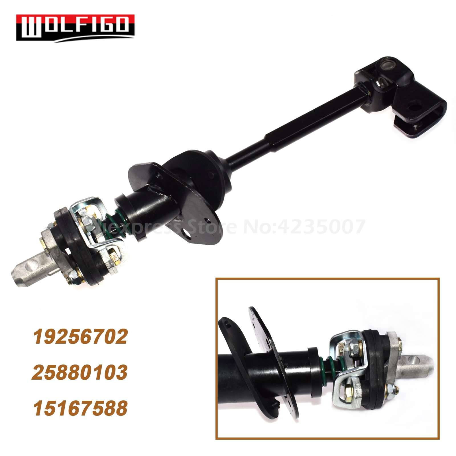 WOLFIGO New For Hummer H3 2006-2010 H3T 2009-10 Steering Column Intermediate Shaft 19256702, 25880103, 15167588(China)