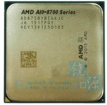 AMD A10-Series A10 8700 Série A10-8750B A10 8750 Quad Core 3.6G 65 W AD8750YBI44JC AD875BYBI44JC Prise FM2 +