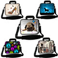 New Soft Neoprene laptop shoulder bag notebook sleeve case for macbook PC 9.7 10 13 13.3  15 15.6 17 17.3  inch Customizable X1