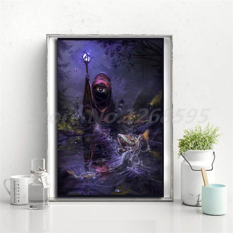Mousefolk Race HD Wallpaper Wall Art Canvas Poster And Print Canvas Painting Decorative Picture For Living Room Home Decoration