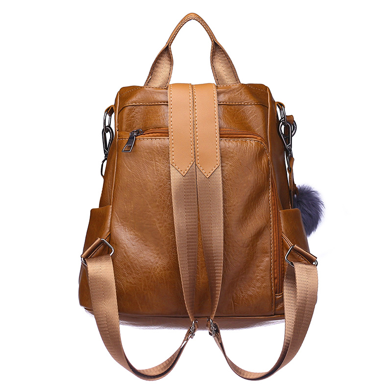 New fashion lady bag anti-theft women backpack 2019 hight quality vintage backpacks female large capacity women's shoulder bags 3
