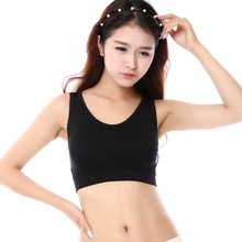2017 Hot Sale Cropped Strappy Bra Free Shipping New Design Sports Bra For Yoga Tops Fitnee Breathable Women's Thin Vest