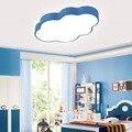Потолочные светильники голубого облака для гостиной  спальни  детской комнаты  поверхностного монтажа  светодиодные потолочные лампы для д...