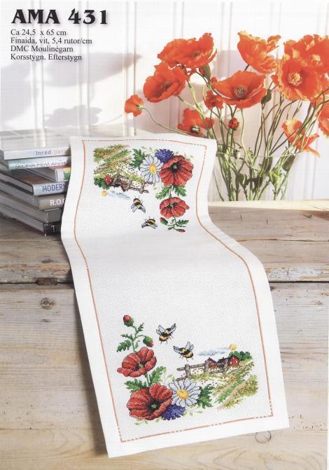 Высокое качество, милый Набор для вышивки крестиком, скатерть, скатерть, цветы, Поппи, салфетки|flower newspaper|placemats tableplacemats sale | АлиЭкспресс