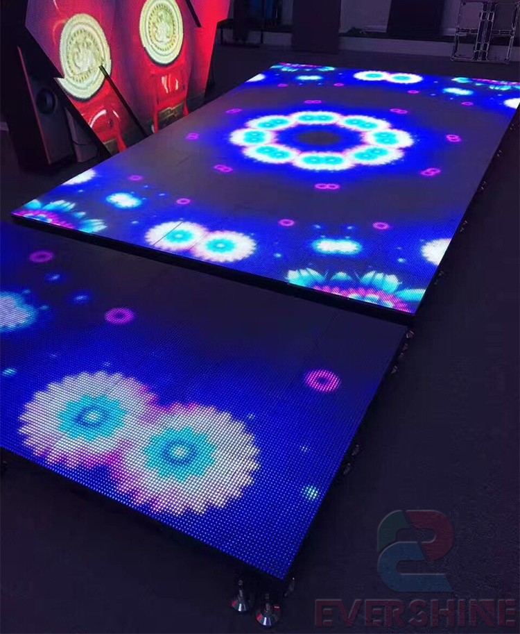 2017 New Arrivals Wedding Stage RGB Lighted Stand up LED Dance Floor-4