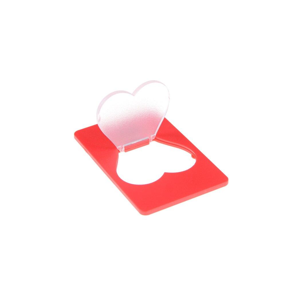 1 Pièces Carte Lampes Mini Portable Coeur Forme Led Carte Lumière Poche Lampe Mis Dans Sac à Main Portefeuille Lumière De Secours
