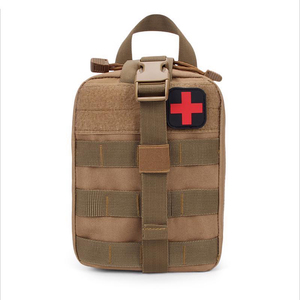 Image 4 - Outdoor sports should Mountaineering rock climbing Lifesaving bag Tactical medical Wild survival emergency kit