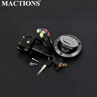 Motorcycle Ignition Switch Lock Fuel Gas Cap Cover Seat Lock Key Sets For Yamaha FZ09 2014 2016 FJ09 FZ07 2015 2016