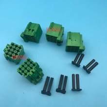 DESCELLER tyco connecteur fil automobile | Livraison gratuite 10/20/50/100 pièces 1-967622-1 vert auto femelle 12 broches