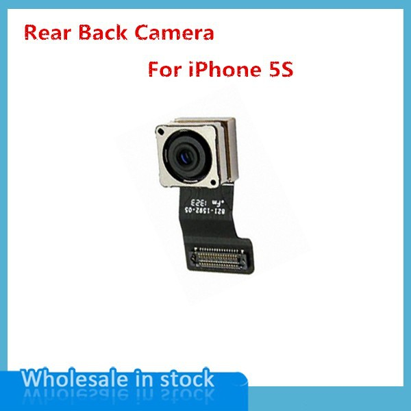 MXHOBIC 20pcs lot High Quality Back Rear Camera For iPhone 5s Big Camera Flex Cable Replacement