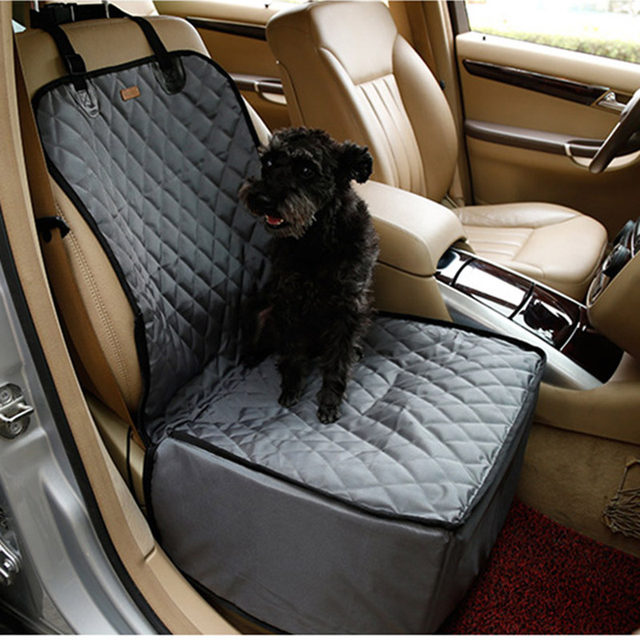 Waterproof Pet Car Seat Cover Single Front Rear Protector Booster Dog Hammock Mats Puppy Carrier