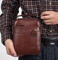 Nova bolsa De Couro Genuíno bolsa de Ombro Bolsa Saco Do Mensageiro Maleta Homens Saco de moda Bolsas