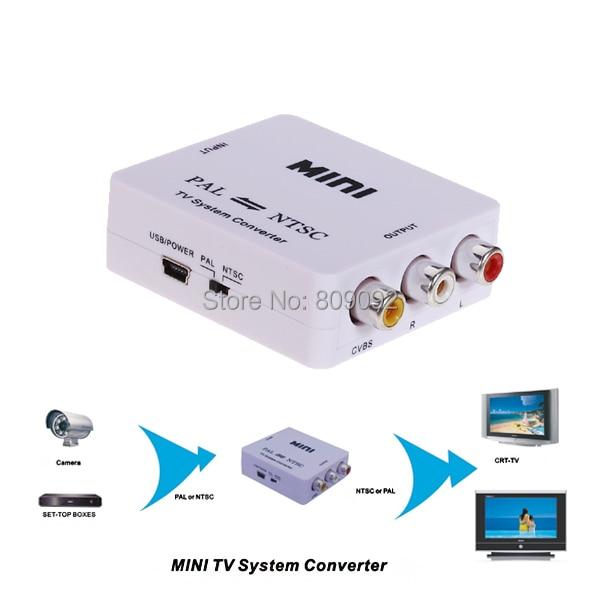 Pal  Ntsc  Secam To Pal  Ntsc Mini Bi Directional Tv Video