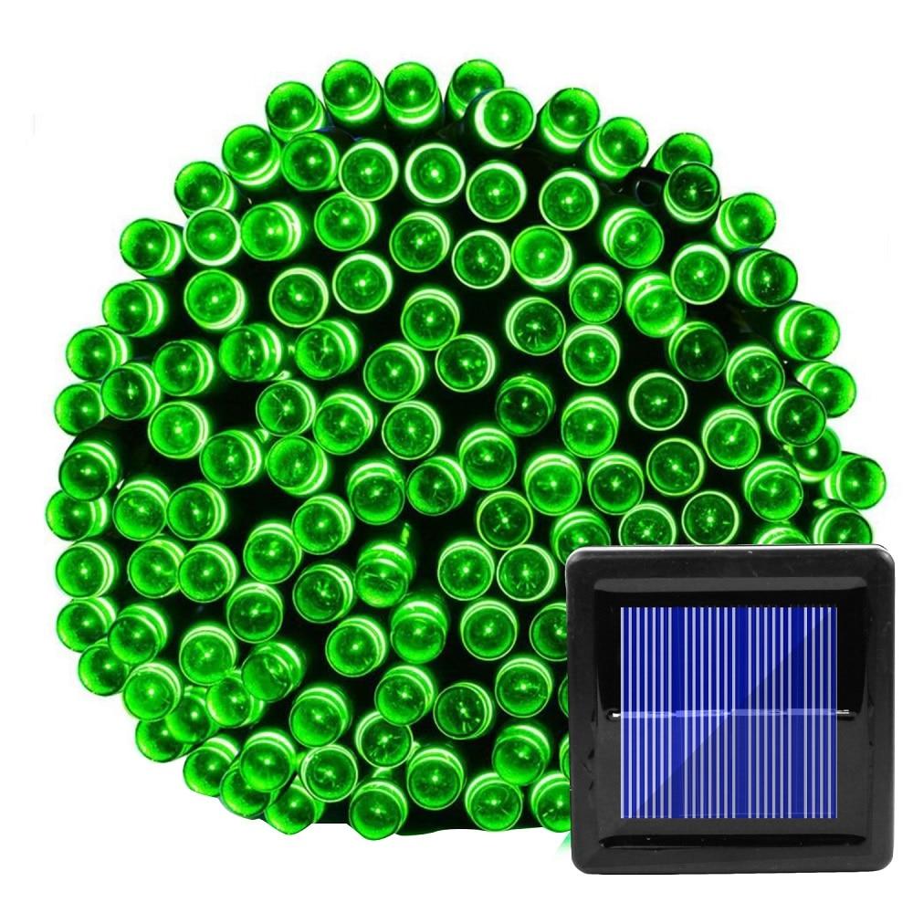 100 LED Solar String Light Outdoor Waterproof Fairy Solar Lights For Garden Decoration Christmas Solar Powered Lamp Strip 200LED (29)
