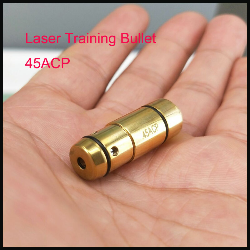 45ACP  laser ammo laser bullet laser trainer pistol laser cartridge for dry fire training-in Lasers from Sports & Entertainment