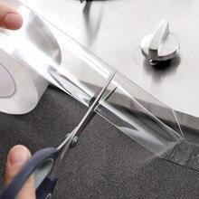 Waschbecken Wasserdichte Mehltau Transparent Band Bad Spalt Streifen Starke Selbst adhesive Pool Wasser Dichtung Band Küche Zubehör