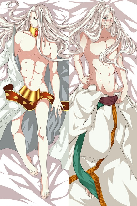 US $22 09 15% OFF May 2016 update Saint Seiya THE LOST CANVAS virgo shaka &  sasha body Pillowcase the lost canvas Athena body pillow cover-in Pillow