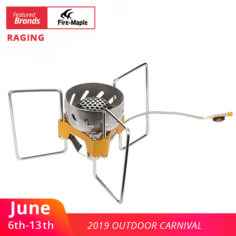 Fire Maple Outdoor Camping Folding Wind Resistant Remote Stove Split Furnace Light Weight GasBurner Equipment FWS-02Fire Maple Outdoor Camping Folding Wind Resistant Remote Stove Split Furnace Light Weight GasBurner Equipment FWS-02