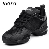 Brand New Style Unisex Modern Square Gym Jazz Hip Hop Dance Sneakers Shoes Hot Sales B205