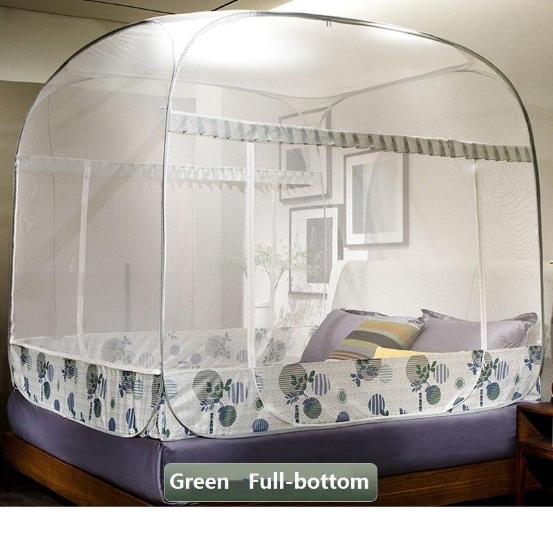 1.2 m enfants moustiquaire insecte rejeter mongole yourte moustiquaire pliante Portable petit lit Net en acier inoxydable Support