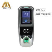 Iface7/MultiBio 700 facial + Huella Digital + controlador de acceso de puerta PIN tiempo asistencia TCP/IP Bloqueo de puerta de reconocimiento facial