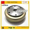 Rodillo cubierta de la bobina magneto motor jianshe 400cc ATV Parts accesorios Envío gratis
