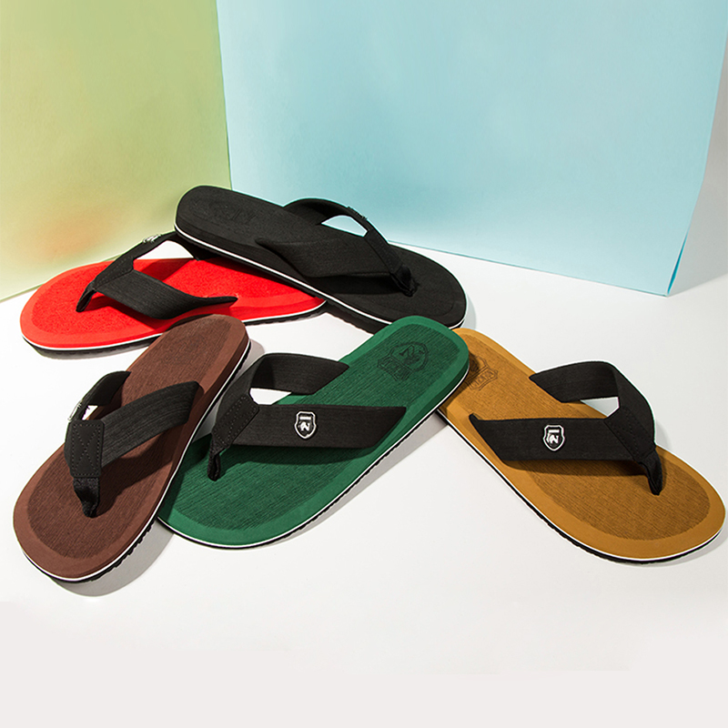 Summer Fashion Men's flip flops Beach Sandals for Men and Women Flat - Men's Shoes - Photo 6