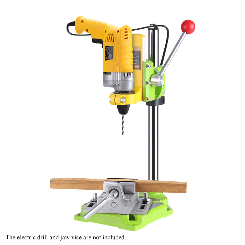 High Precision Electric Power Drill Press Stand Table Rotary Tool Workstation Drill Workbench Repair Tools Clamp Work Station d69 low viscosity centrifugal barrel pump 100l min 380w hand oil pump