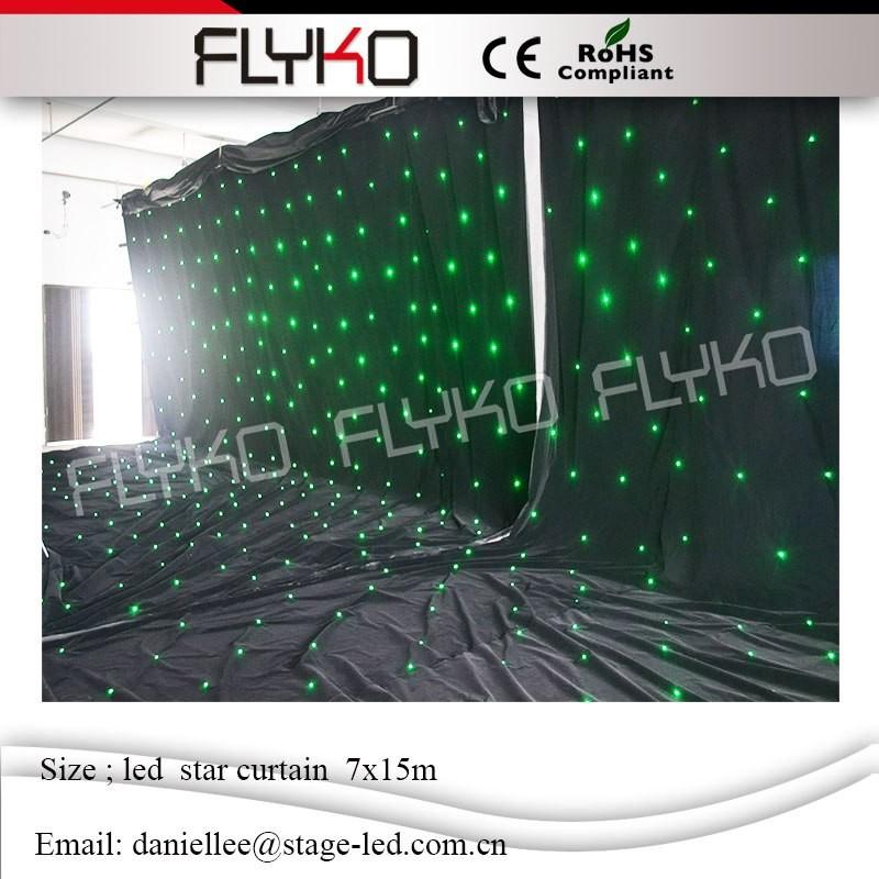 LED star curtain 66