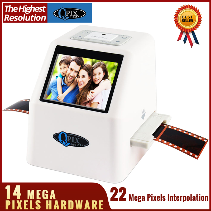"High Resolution 22 MP 110 135 126KPK Super 8 Negative Photo Scanner 35mm Slide Film Scanner Digital Film Converter 2.4""LCD(China)"