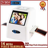 """22 MP 110 135 126KPK Super 8 négatif Photo Scanner 35mm diapositive Film Scanner numérique Film convertisseur 2.4 """"LCD"""