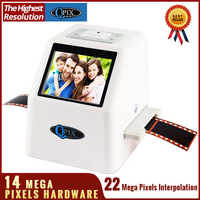 22 MP 110 135 126KPK Super 8 Pellicola per Diapositive Negative Photo Scanner 35 millimetri Scanner Digital Film Converter
