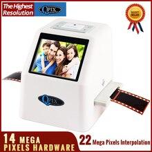 Drop shipping Super High resolution Digital 110/135mm film scanner slide Scanner with 2.36