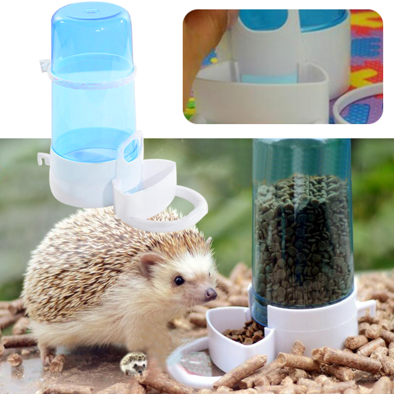 Automatic Pet Food Dispenser Feeder Feeding Bowl Dish Hamster Hedgehog Pet Supplies Drop Shipping Pet Accessories Hamster Feeder