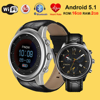 X5 Air Smart Watch RAM2GB ROM 16GB MTK6580 Wearable Bluetooth Heart rate Wifi GPS Watch Phone Android5.1 3G Smartwatches For IOS