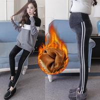 Thicken Warm Velvet Maternity Leggings Pants Winter Fashion pregnancy Casual Pants Clothes for Pregnant Women Pregnancy Trousers