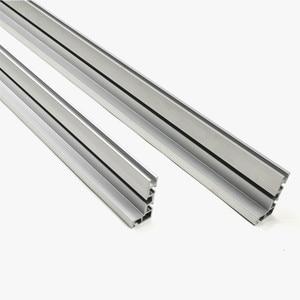 Image 5 - 600mm/800mm Aluminium Profil Zaun 75mm Höhe mit T tracks und Schiebe Klammern Gehrung Gauge zaun Stecker für Holzbearbeitung