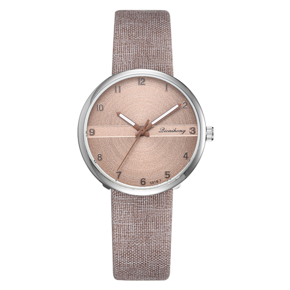 Minimalist Simple Women Dress Watches Retro Leather Female Clock Top Brand Women's Fashion Wood Design Dial Wristwatches Clock